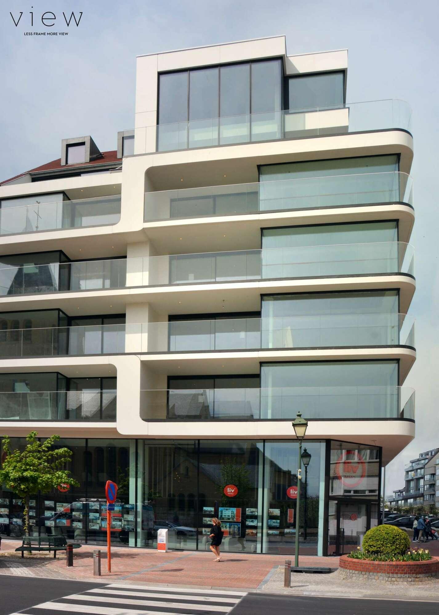 Appartementgebouw in het hartje van Knokke